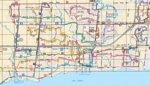 Oakville Transit Map