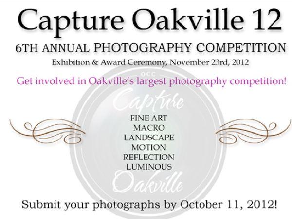 Photography contest Oakville 2012