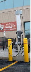 Charging Station for Cars at Tim Hortons Oakville