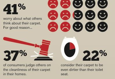 Carpet cleaning statistics Oakville