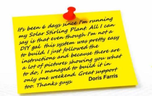 Doris uses Solar