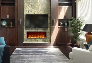 Dynasty electric fireplace