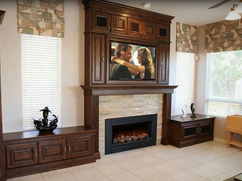 Modern Flame electric fireplaces